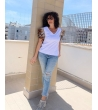 T-shirt Wing Strass Woman