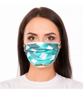 Cover per mascherina Smeralda Altamoda