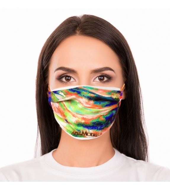 Cover per mascherina Green Flame Altamoda