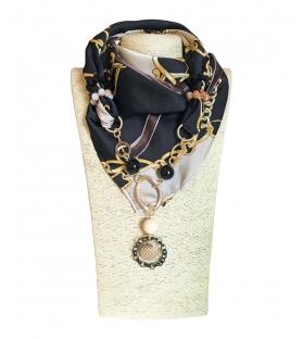 Foulard Gioiello Chains Seta