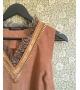 Vestito dainette cammello