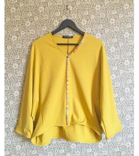 Maglia casacca gialla