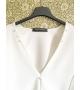 Vestito con perle e swarovski bianco