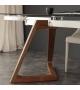 Tavolo Gaudì Massello e Vetro 160x90 cm