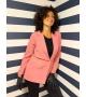 Giacca blazer rosa