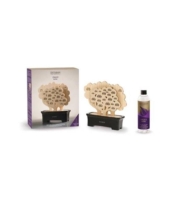 Profumatore Albero Legno Ceramica + Ricarica 205ml