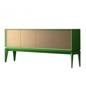 Credenza Beol Triangle Soft 4 Ante Verde