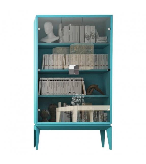Cabinet Triangle Libreria a vetro