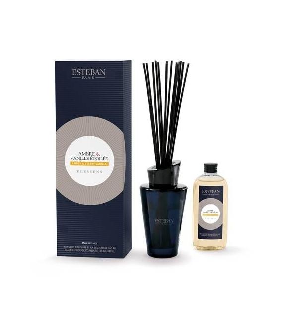 Bouquet Profumato - AMBER & STARRY VANILLA con stick e ricarica 150 ml