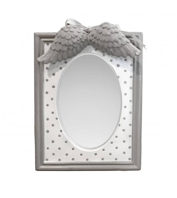 Specchio da Tavolo con cornice Angelo Pois Grigio