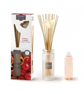 BOUQUET PROFUMATO + RICARICA 75 ML SOLIFLORE CRANBERRY ET CANNELLE
