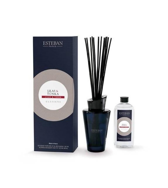 Bouquet Profumato - LILAC & TONKA con stick e ricarica 150 ml