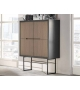 Cabinet Cubo Frontali in Rovere