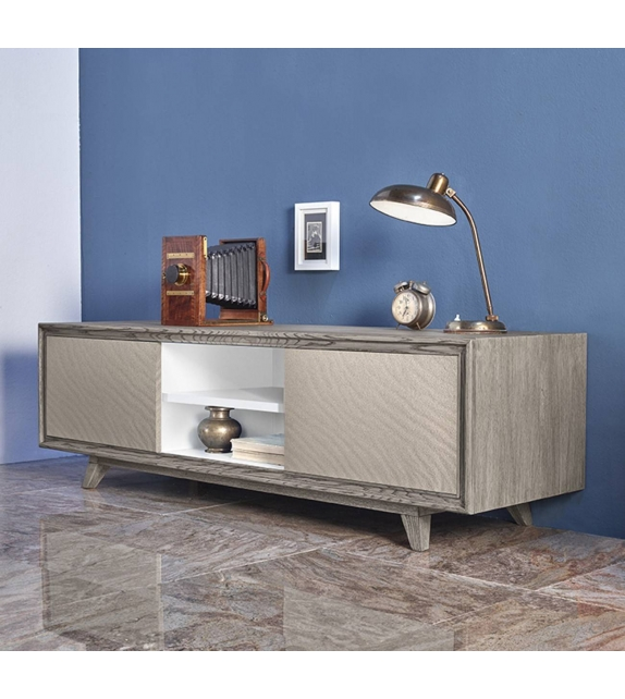 Credenza Porta Tv con frontali in quarzo