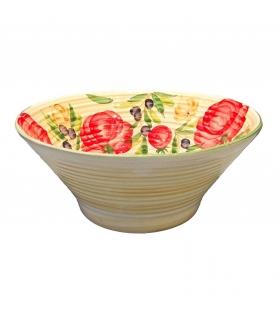 Coppa Grande in Ceramica Mediterraneo Ø 36,5cm
