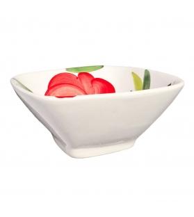 Ciotola Quadrada Pomodori e Olive