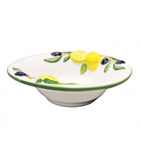 Ciotola Tonda Limone e Olive