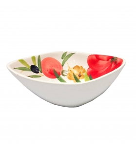 Ciotola Coppa piccola pomodori e olive