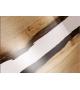Tavolo in Legno e Resina con Basamento in Metallo