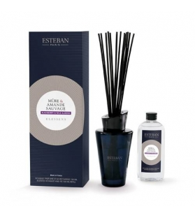 Bouquet Profumato - BLACKBERRY & WILD ALMOND con stick e ricarica 150 ml