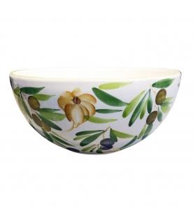 Coppa Ceramica Aglio e Olive diametro 26cm