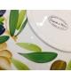 Coppa Ceramica Aglio e Olive diametro 35cm