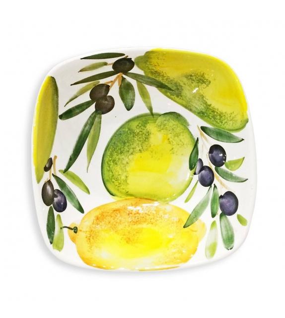 Piatto Fondo Pasta Limoni e Olive